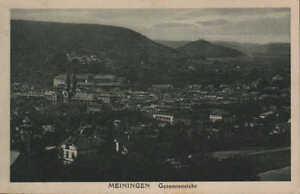 MEININGEN-Ansichtskarte-1931-Meiningen-in-Thueringen-Gesamtansicht
