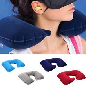 Inflatable-Travel-Neck-Pillow-U-Shape-Neck-Support-Headrest-Car-Flight-Eye-Mask