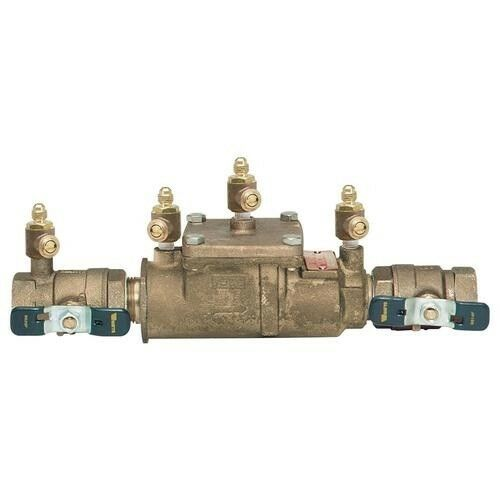 """Watts 1/"""" 007M1QT Double Check Valve Assembly 0062306"""