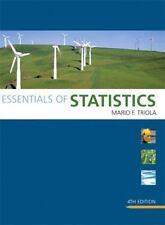 Triola Statistics: Essentials of Statistics by Mario F. Triola (2010, CD-ROM...