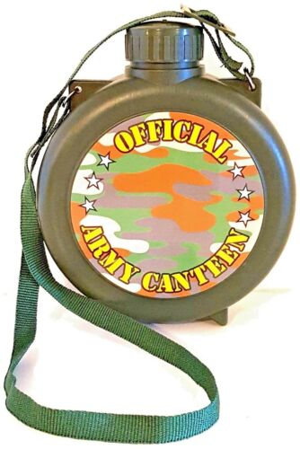 OFFICIAL ARMY CANTEEN 5.5 inches Toy Canteen