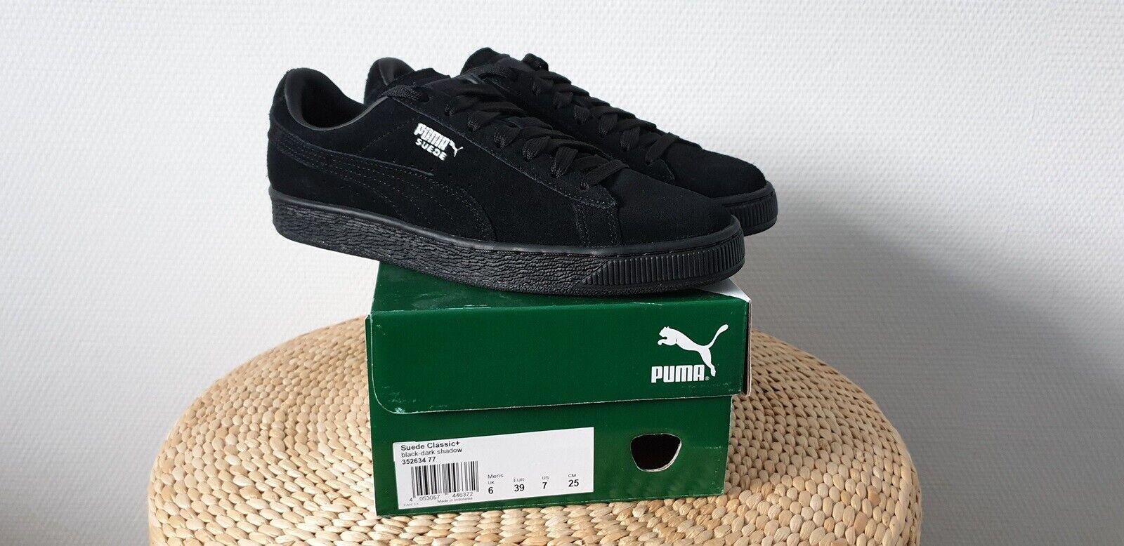 Sneakers PUMA Suede Classic+ 352634 77 BlackDark Shadow