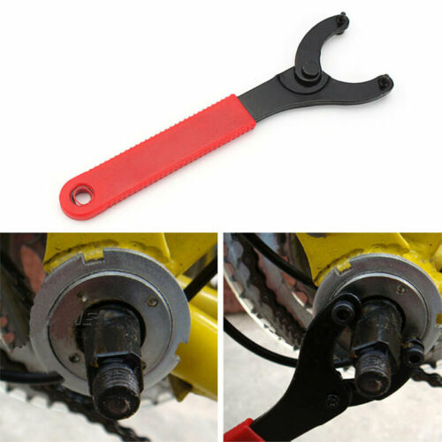 Bicycle Repair Tool  Bike Bottom Bracket Wrench New Lock Ring Installation Crank