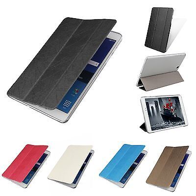 """PU Leather Slim Folio Case Stand Cover For Samsung Galaxy Tab A 8.0"""" 9.7"""" Tablet"""
