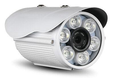 HJT 1080P IP Camera HD Outdoor White Light LED CCTV Security Onvif Sony Sensor