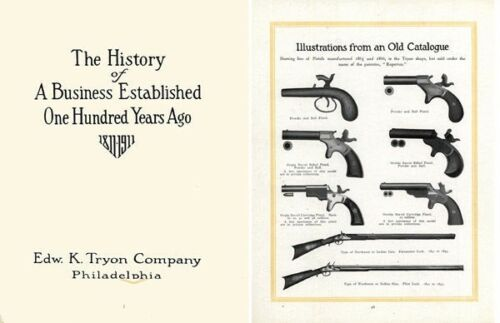 Phila, PA Edward K Tryon 1811-1911 Centennial History