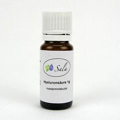 Sala Hyaluronsäure Hyaluron Pulver niedermolekular 1 g