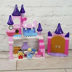 Lego-Duplo-Disney-Cinderella-039-s-Castle-avec-Cinderella-amp-Prince-Set-6154-RETIRED