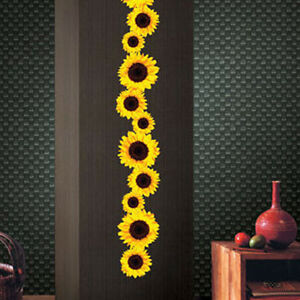 Sunflower-Wall-Stickers-Kids-Bedroom-Living-Room-Removable-