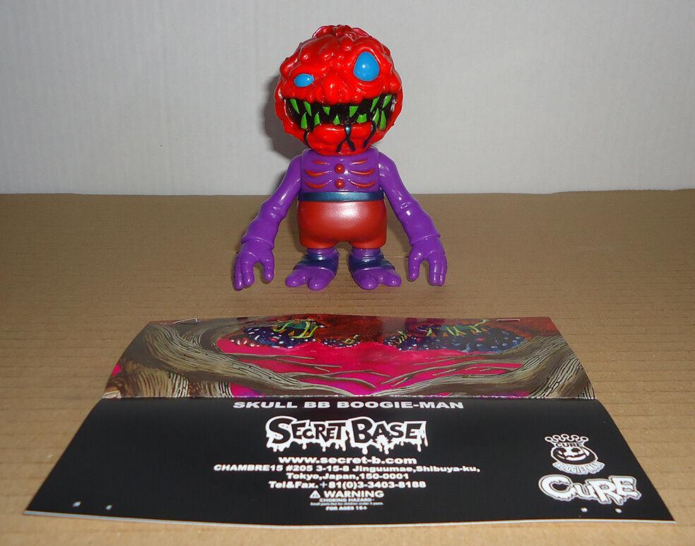 Secret Secret Secret Base   Cure - SKULL B×B×BOOGIE-MAN - Sofubi Toy Made in Japan kaiju efaa62