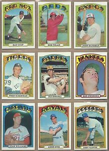1972-72-Topps-YOU-PICK-SINGLES-FROM-1-787-ALL-HIGH-GRADE-NEAR-MINT-OR-BETTER