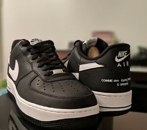 best service fd03d 580a1 Details about Nike Air Force 1 Low Supreme x Comme des Garcons Black Size 11