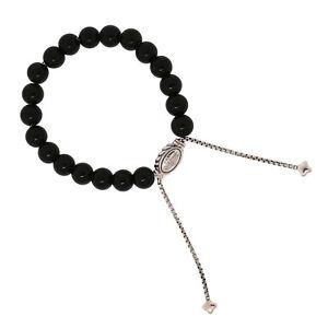 David-Yurman-Jewelry-925-Sterling-Silver-8mm-Black-Onyx-Spiritual-Beads-Bracelet