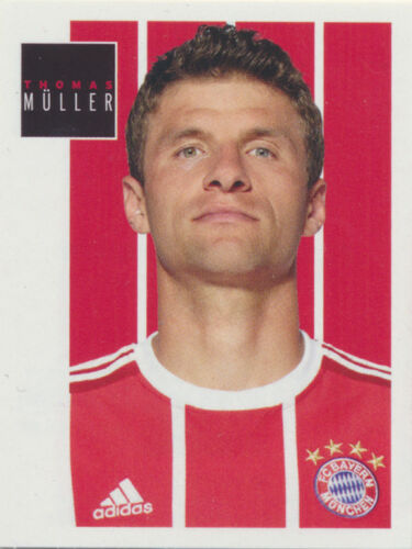 BAM1718 Sticker 155 Thomas Müller Panini FC Bayern München 2017//18