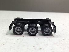 HO 1/87 Promotex X10231 Tri-axle chassis ONLY - Suitable for Spread Axle