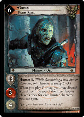 Mearas of the Mark Lord of the Rings CCG Bloodlines 13R126 Firefoot