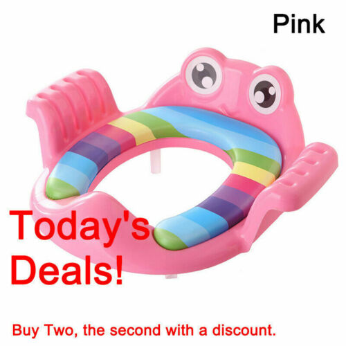 Baby Kids Toilet Seat Training Toddler Child Safe Potty Trainer Chair Tool UK