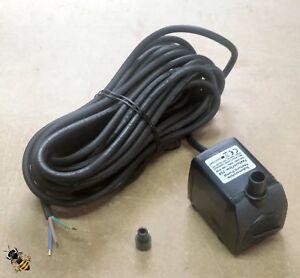 Eau-de-pompe-d-039-exterieur-750ltr-Secteur-Cable-10-m