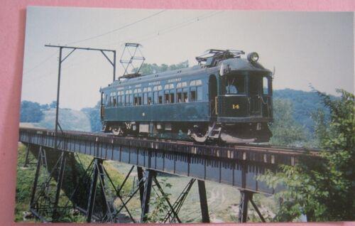 London and Port Stanley Railway Zavitts Pond Viaduct July 1952 Train Postcard