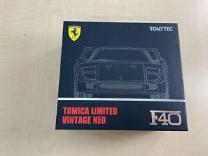 TOMICA LIMITED Vintage Neo 1/64 TLV-NEO FERRARI F40 Noir (fabricant ' S Fi
