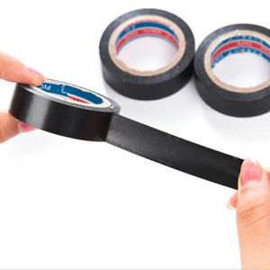 1x-PVC-Electrical-Wire-Insulating-Tape-Roll-Black-20M-Length-16mm-Wide-Black