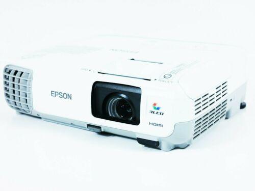 Epson PowerLite 97H Tri-LCD Projector 2700 ANSI HD 1080i 2HDMI w//Remote bundle
