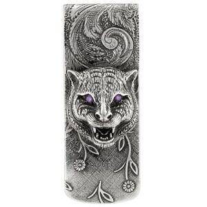 1d04f790c9b9 New Gucci Men's Sterling Silver Cat Money Clip YBF52341200100U   eBay