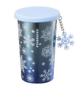 Starbucks Korea 2017 Christmas Limited SS Snowflake Charm Tumbler Stainless355ml