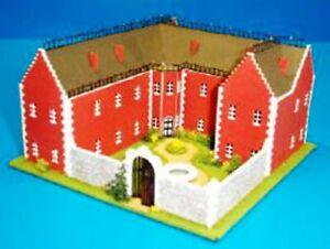 Dollhouse-Miniature-Castle-Kit-1-144-Scale