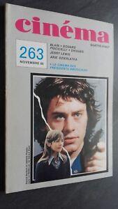 Rivista Cinema Novembre 80 N° 263 Be