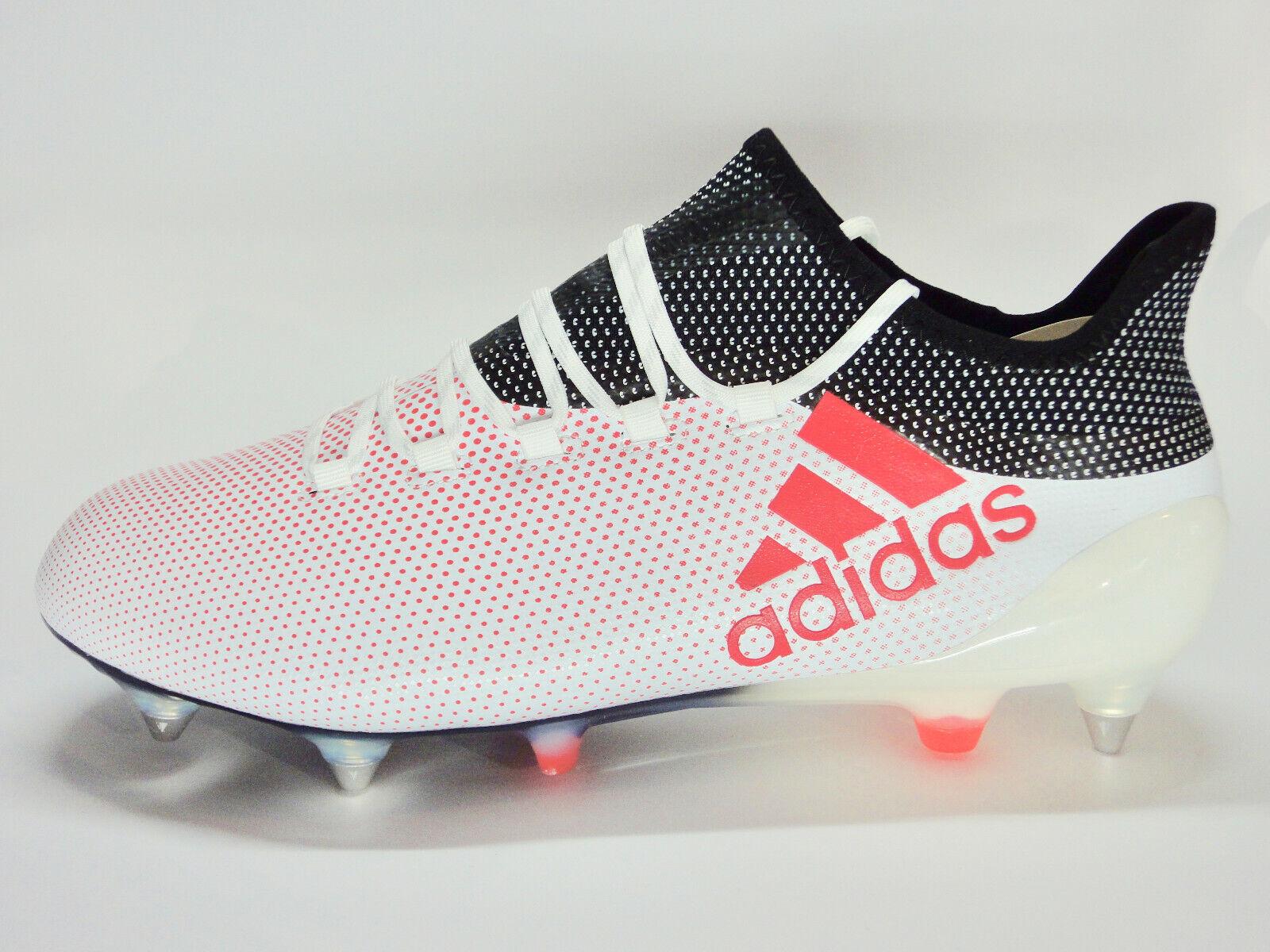 Adidas X 17.1 SG Stollenschuhe Fußballschuhe weiß rot schwarz CP9171