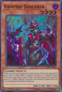 DASA-EN049 3X NM Vampire Sorcerer Super Rare 1st Edition yugioh PLAYSET
