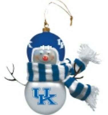 NCAA Kentucky Wildcats Large Ball Ornament