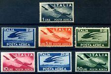 ITALIA 1945/6  Posta Aerea Democratica ruota Serie nuova **