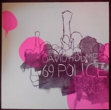 "David Holmes – 69 Police PROMO VINYL 4 Track 12"" EX   OST Oceans 11"