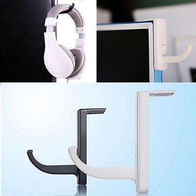 Headphones Holder Earphone Headset Wall PC Monitor Display Hanger Stand Rack 1PC