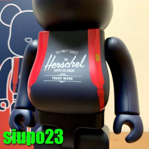 Medicom 400/% Bearbrick ~ Herschel Supply Be@rbrick