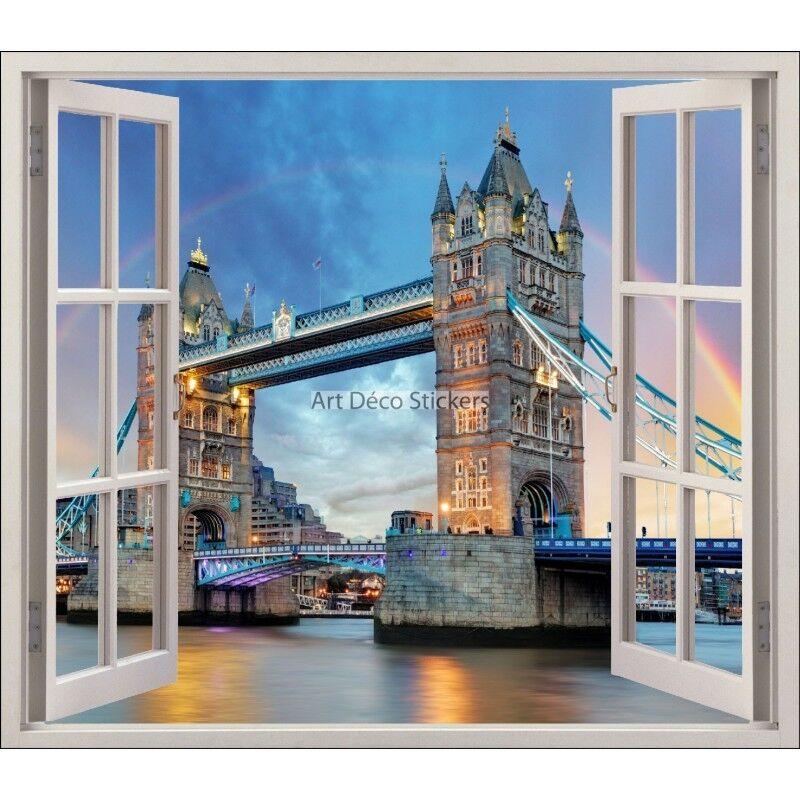 Aufkleber Fenster Deko Londres Ref 5410 5410