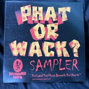 Insane Clown Posse / Twiztid - Phat or Wack CD 1st Press dark lotus Sampler icp
