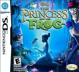 1 of 1 - The Princess and the Frog (Nintendo DS, 2009)