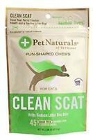 Pet Naturals Clean Scat For Cats (45 Chews)