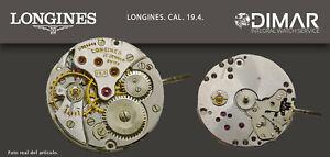 Vintage Original Movement/Longines. Calibre 19.4 Swiss