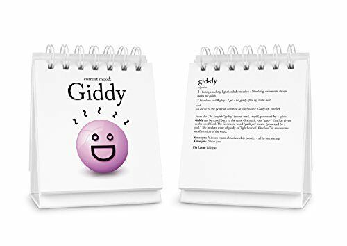 Fred THE DAILY MOOD Desk Flipchart