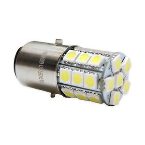 ampoule de lampe led h6 ba20d douille culot 12v 35 35w avec 27 led avec e13 ebay. Black Bedroom Furniture Sets. Home Design Ideas