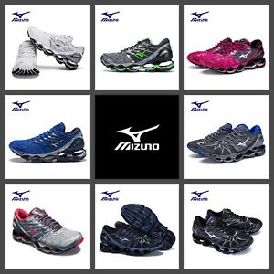 Details Men Original Mesh Running PROPHECY Shoes ventilation Mizuno Professional Wave 7 about TcF3JK1l