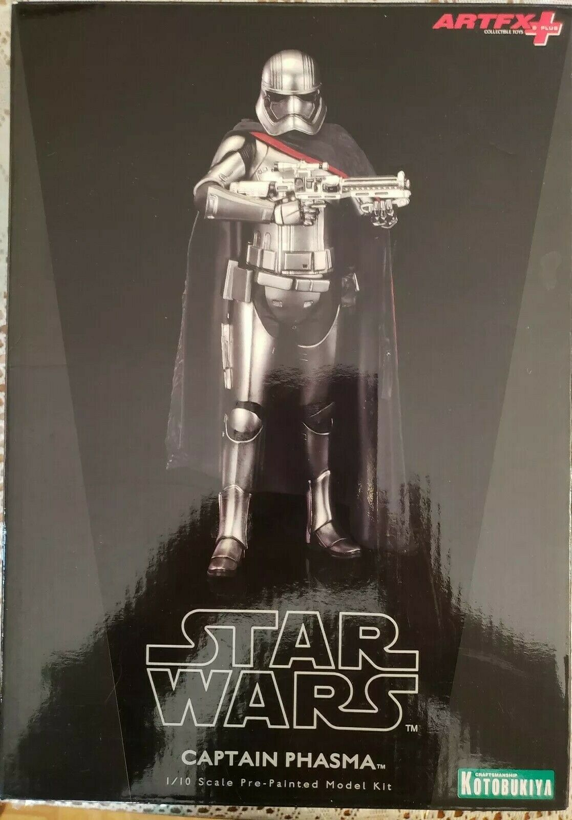 Kotobukiya - CAPTAIN PHASMA - ARTFX+ Statue Statue Statue 1 10 Scale Pre-Painted Model Kit 436d11