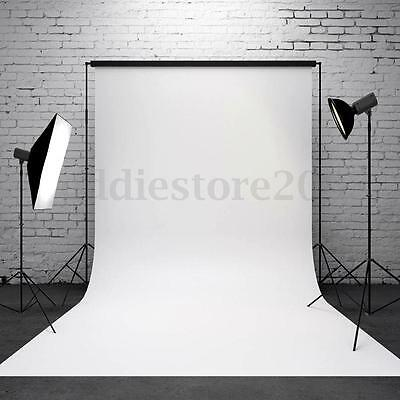 Vinly Pure White Photography Background Backdrop Photo For Studio Prop 3x5Ft