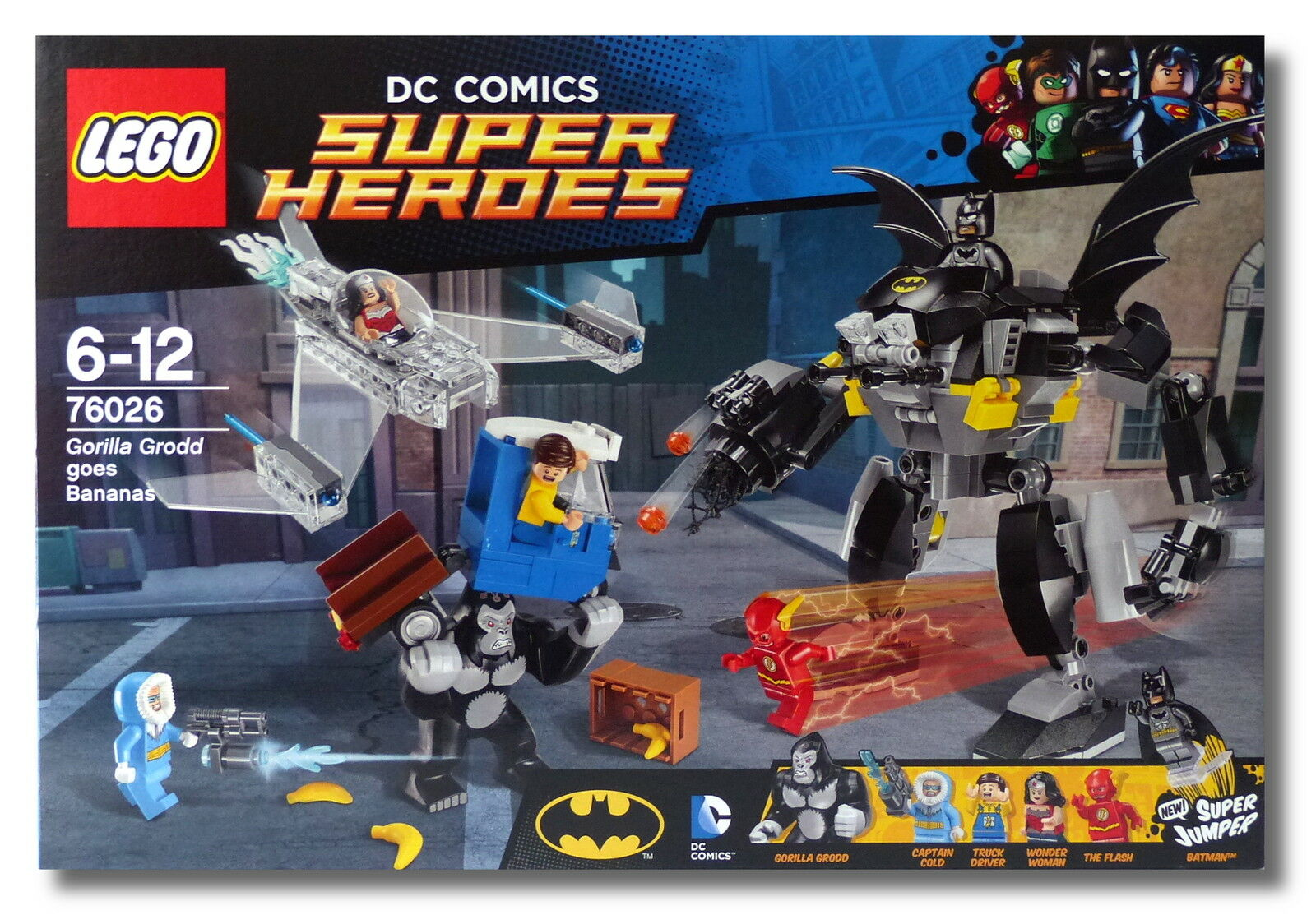 LEGO ® DC Comics ™ Super Heroes 76026  Gorille grodds crise de rage  Batman Nouveau Neuf dans sa boîte