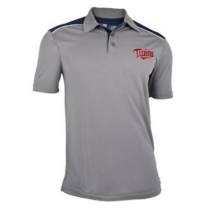 99b708d0 Authentic Mlb Minnesota Twins Tx3 Cool Polo Shirt With Embroidered
