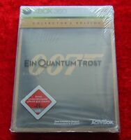 007 Ein Quantum Trost Collector´s Edition, Usk 18, Xbox 360 Spiel, Neu, Deutsche